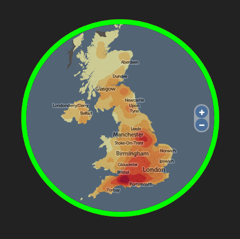 named - Map your surname across the UK